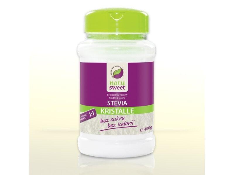 Stevia Natusweet Kristalle 1:1 400g