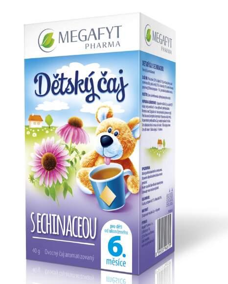 Megafyt Dětský čaj s echinaceou 20x2g