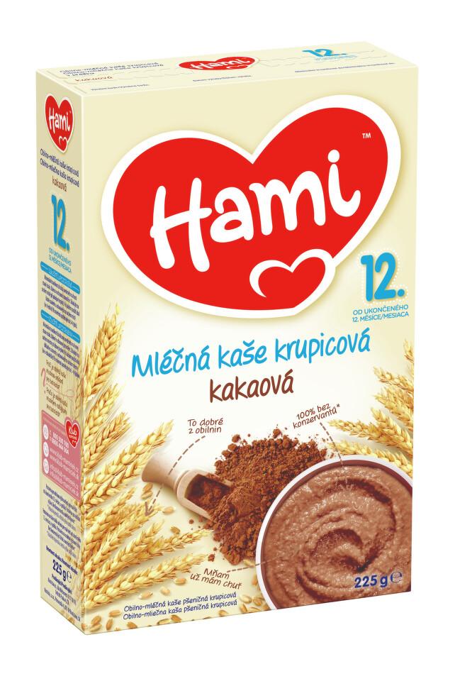 Hami kaše ml.krupicová kakaová 225g