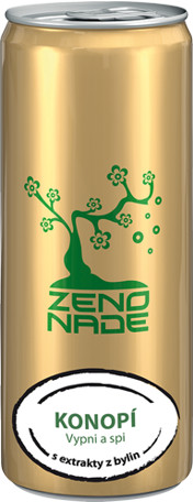 ZENONADE Anti-energy drink Konopí 250ml
