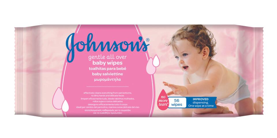 JOHNSON'S® Baby vlhčené ubrousky Gentle Cleansing 56 ks