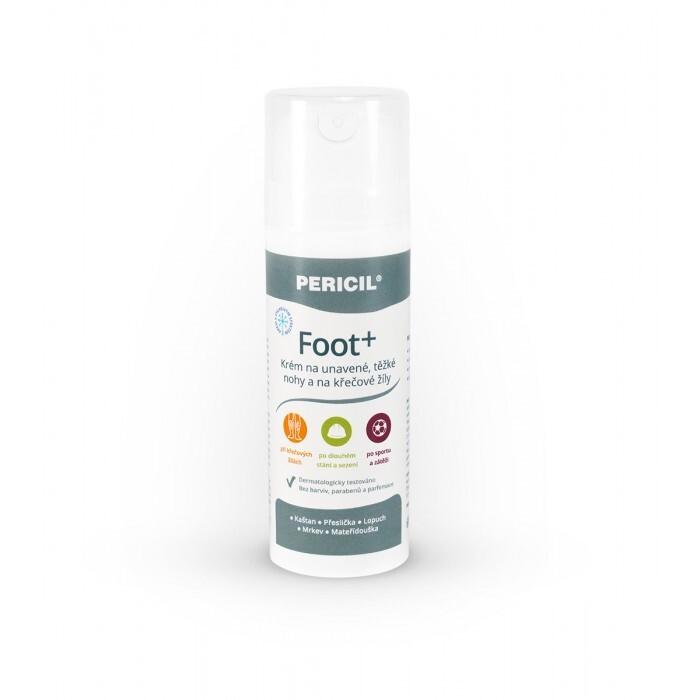 PERICIL Foot+ krém na nohy a křečové žíly 150ml