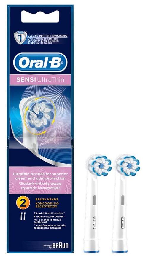 Oral-B kartáčkové hlavice Sensitive 2 ks