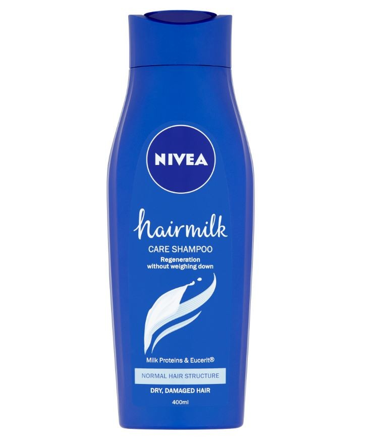 NIVEA Šampon Hairmilk Normální vlasy 400ml 82794