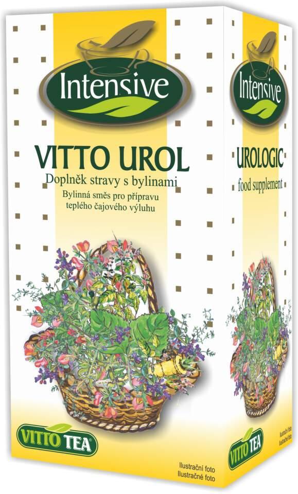 VITTO Intensive Urologický bylinný čaj n.s.20x1.5g