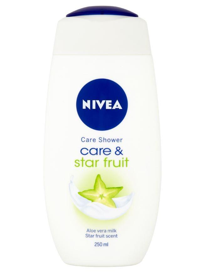 NIVEA Sprchový gel Care&Starfruit 250ml. č.80853