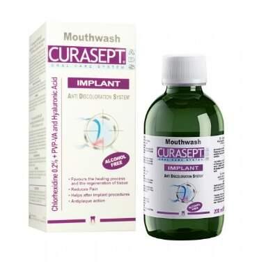 CURASEPT ADS IMPLANT ústní voda 200ml 0.20%CHX