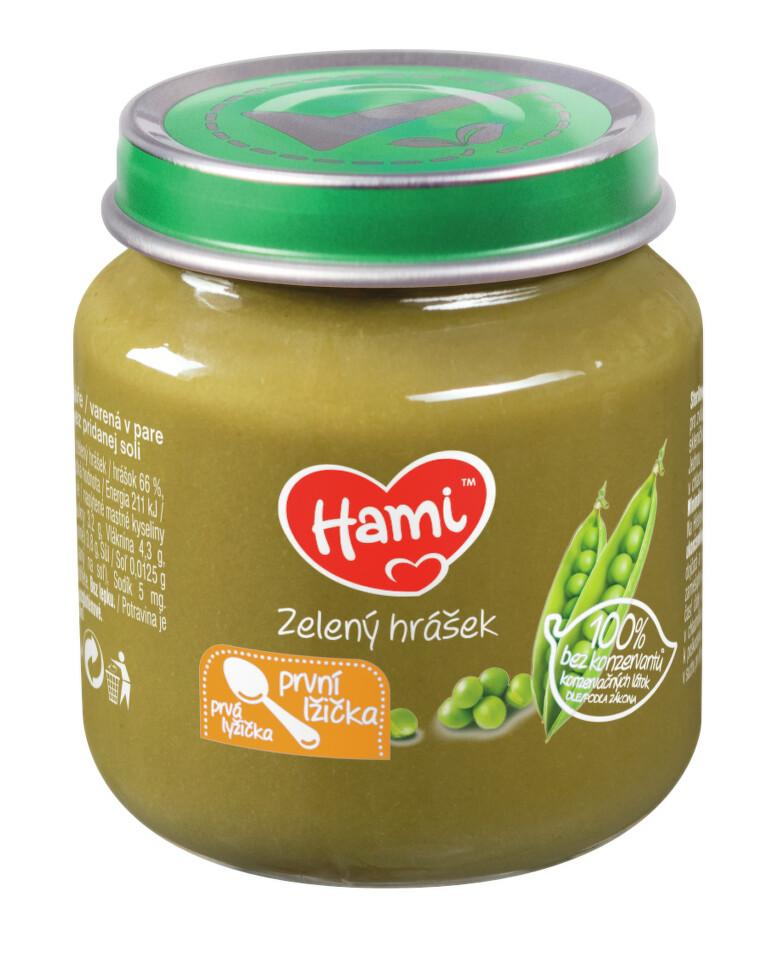 Hami příkrm Zelený hrášek 125g