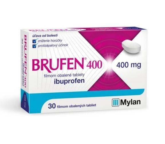 BRUFEN 400 400MG potahované tablety 30