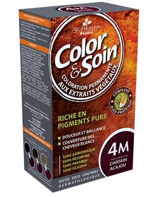 Barva a Péče 4M - Mahagonová hnědá 135ml