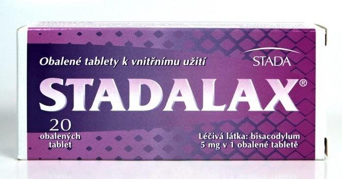 STADALAX 5MG obalené tablety 20