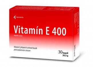 Noventis Vitamín E 400 cps.30