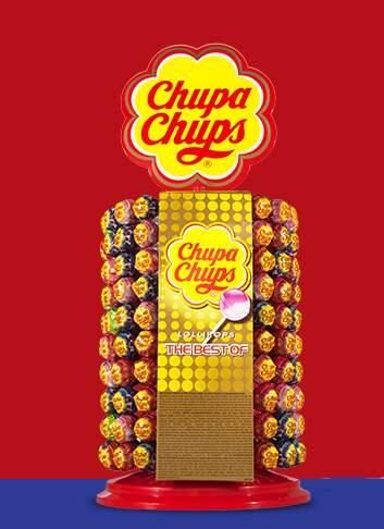 Chupa Chups Clasic 200ks wheel lízátka