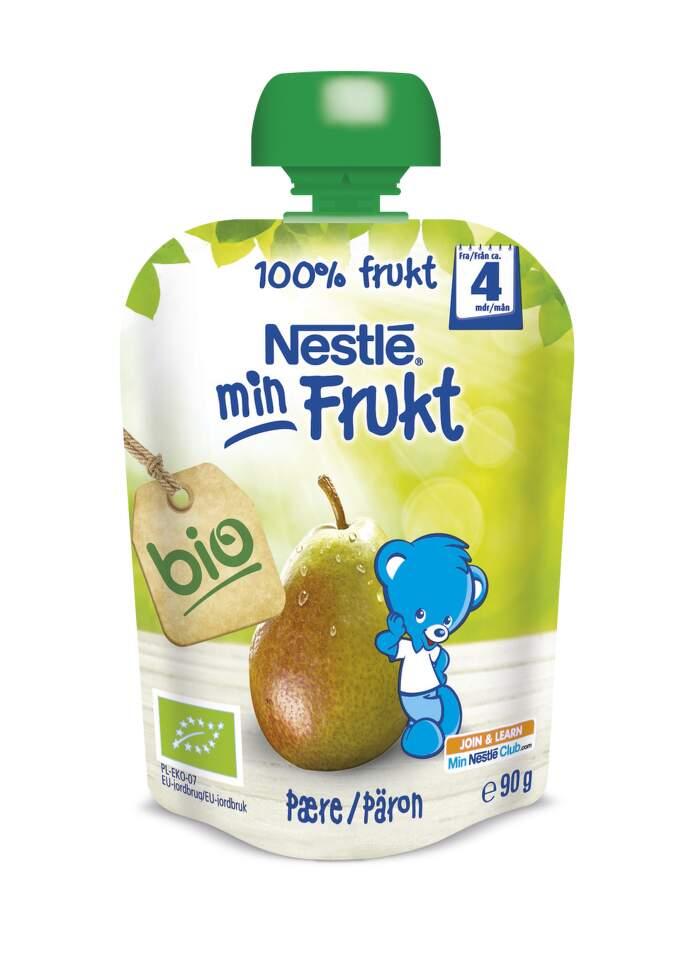 NESTLÉ kapsička ovocná Hruška BIO 90g