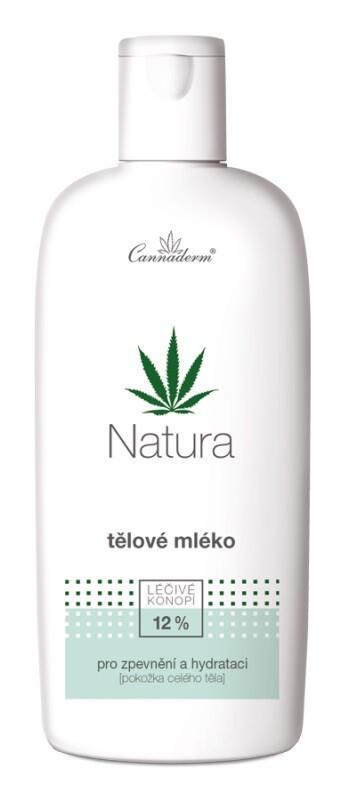 Cannaderm NATURA tělové mléko vyživující 200ml