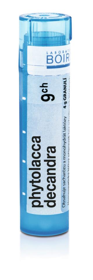 PHYTOLACCA DECANDRA 9CH granule 4G