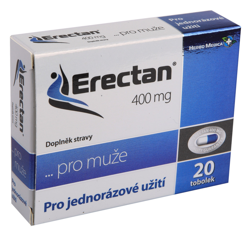 Erectan 400mg 20 tobolek