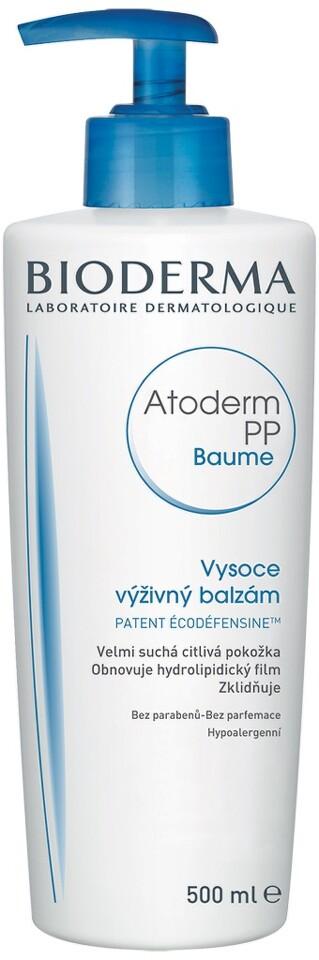 BIODERMA Atoderm PP Baume 500ml Nakupte 3 produkty řady Bioderma Atoderm a zaplaťte pouze za 2. Akce platí na e-shopu do 31. 10. 2017 nebo do vyprodání zásob.