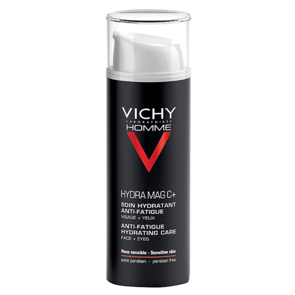 VICHY HOMME Hydra Mag C+ 50ml Při koupi 3 produktů VICHY Péče o pleť nyní zaplatíte pouze za 2. Akce platí na e-shopu do 15. 11. 2017 nebo do vyprodání zásob.