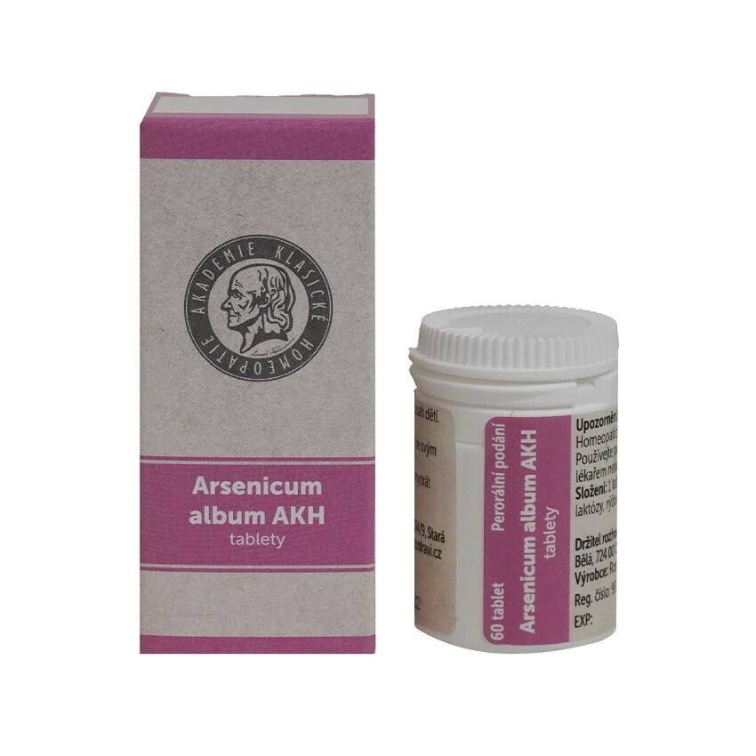 ARSENICUM ALBUM AKH 555C neobalené tablety 60 I