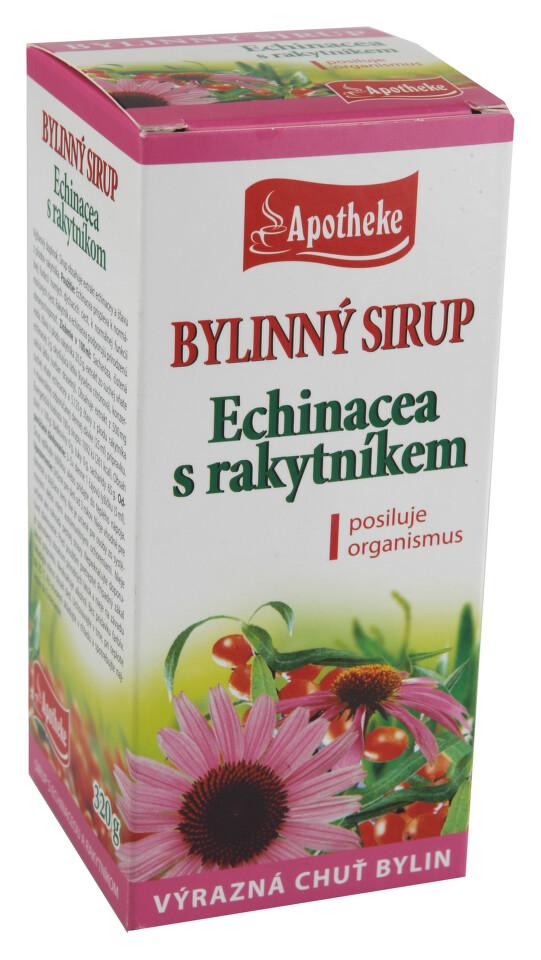 Apotheke sirup echinacea s rakytníkem 320g