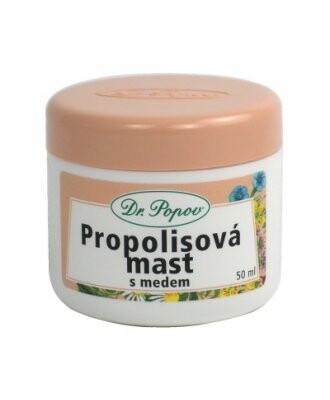 Dr.Popov Propolisová mast s medem 50ml