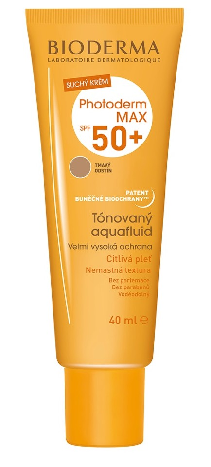 Bioderma Photoderm MAX Aquafluid tmavý SPF50+ 40 ml