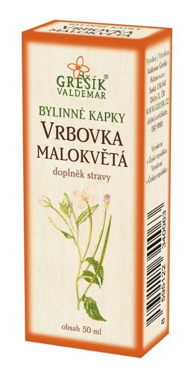 Grešík kapky Vrbovka malokvětá 50 ml