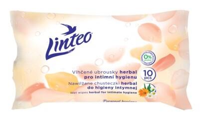 Ubrousky vlhčené Linteo Satin intimní 10ks