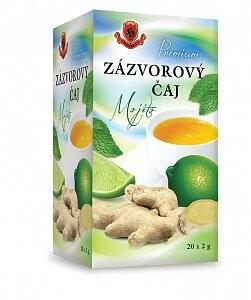 HERBEX Zázvorový čaj Mojito 20x2 g