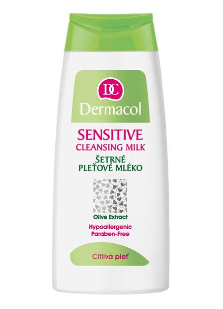 Dermacol Senzitive šetrné pleťové mléko 200ml
