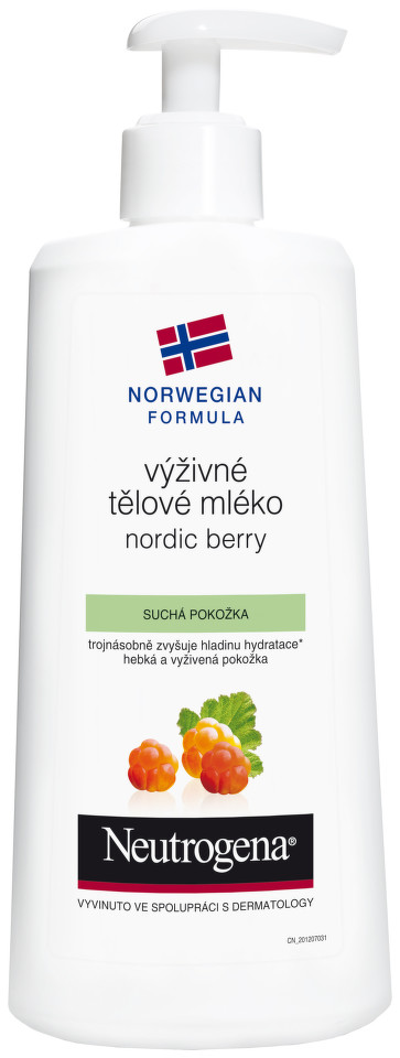 NEUTROGENA NordicBerry mléko těl. 400ml