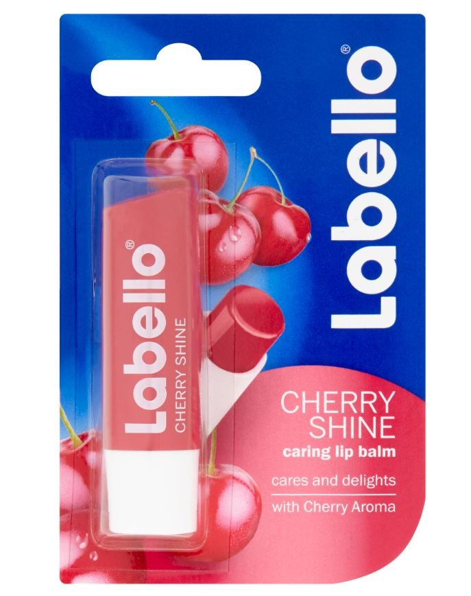 LABELLO CHERRY SHINE tyčinka na rty 4.8g č.85071