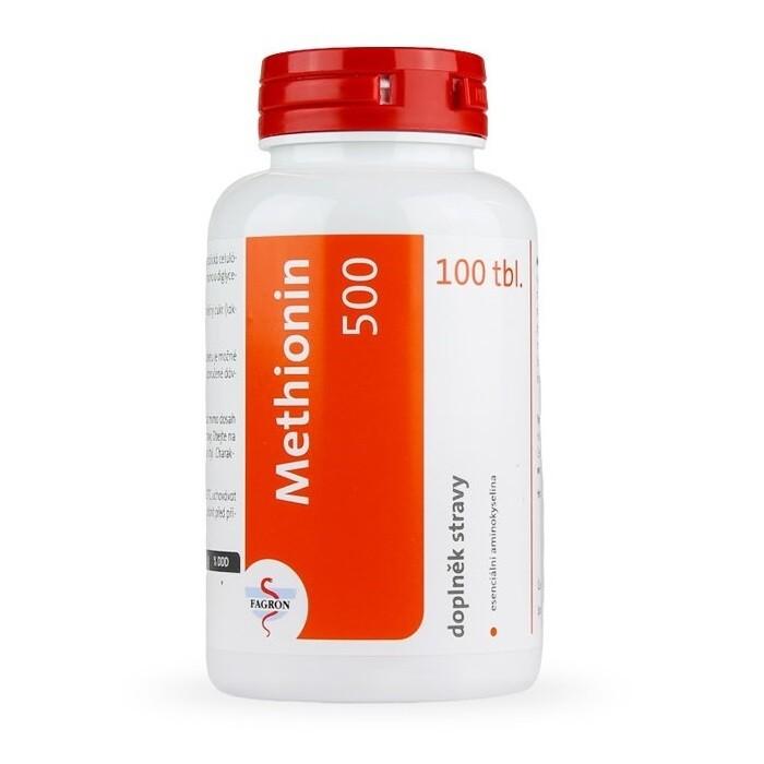 Methionin 500 tbl.100 Fagron