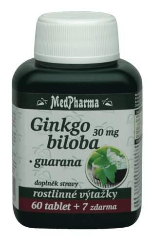 MedPharma Ginkgo biloba+guarana cps.67