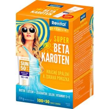 Revital Super Beta-karoten tbl.40+20 +opal.mléko