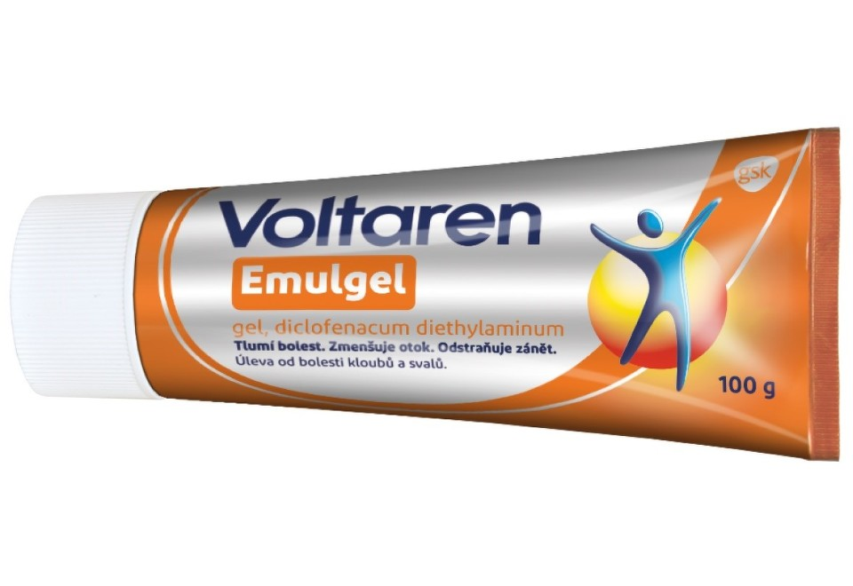 VOLTAREN EMULGEL 10MG/G gely 100G II