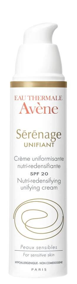 AVENE Serenage unifiant 40ml-sjednoc.výživný krém