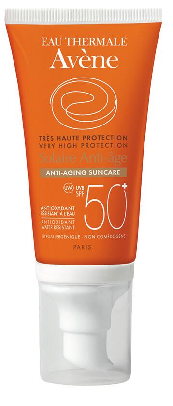 AVENE Sluneční Anti-age SPF50+ 50ml + dárek AVENE Lotion micellaire 100ml micelární voda zdarma