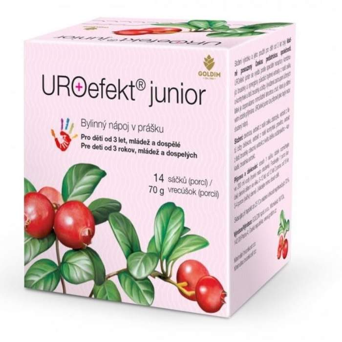 URO efekt junior sáčky 14x5g