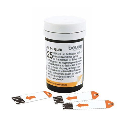 Test.proužky ke glukom.Beurer GL 44/GL 50 2x25ks