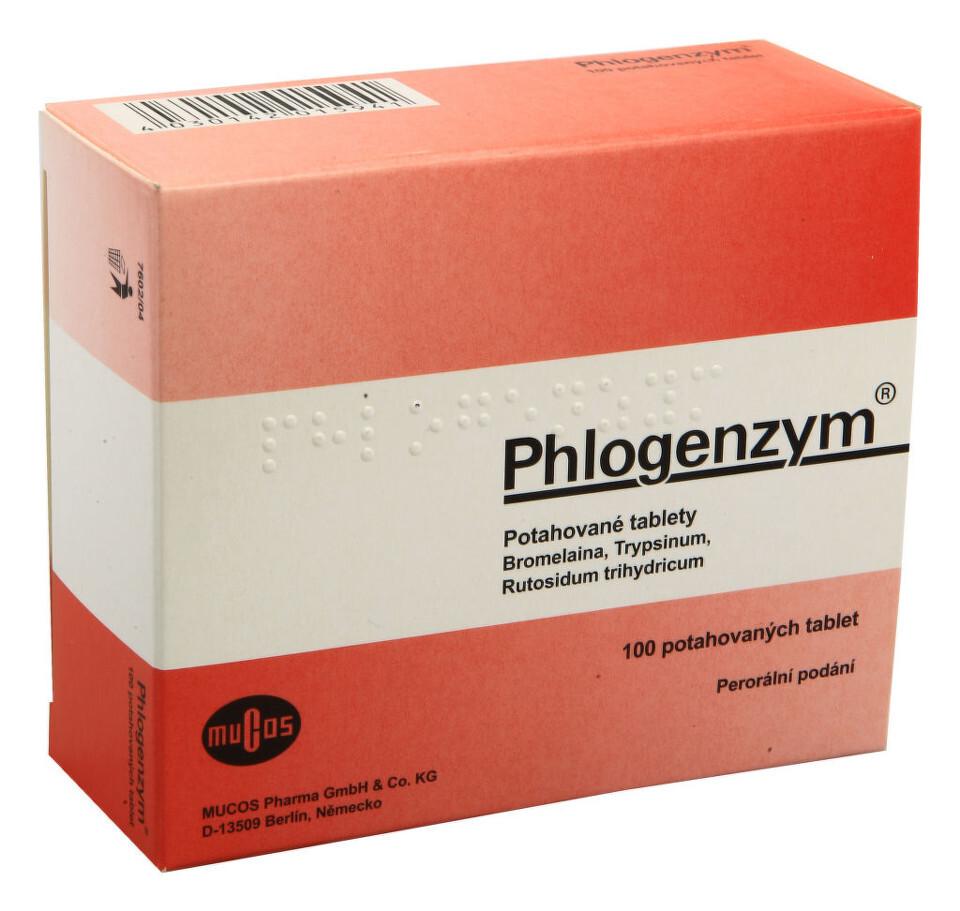 Phlogenzym por.tbl.flm.100