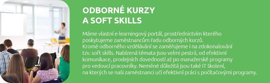 Odborné kurzy a soft skills v BENU