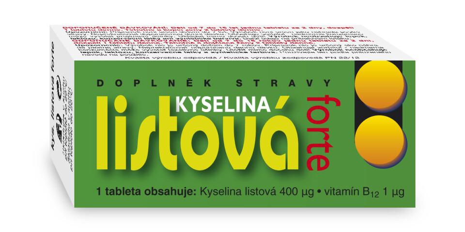 Kyselina listová Forte tbl.60 Naturvita