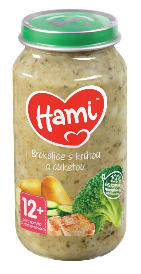Hami příkrm brokolice a krůtí prsa 250g 12M