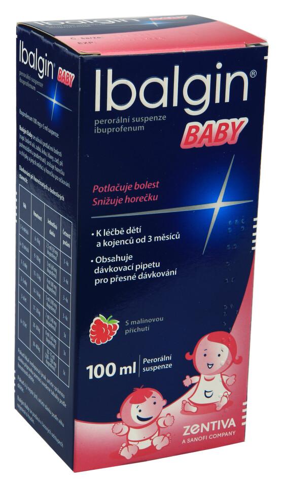 IBALGIN BABY 100MG/5ML perorální SUS 100ML