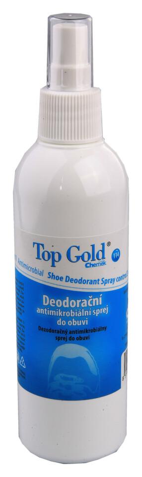 TOP GOLD Deodor. antimikrob.sprej obuv+nohy 150g