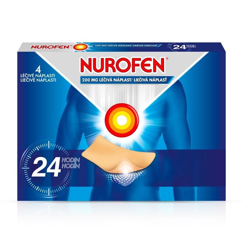 NUROFEN 200MG léčivé náplasti 4