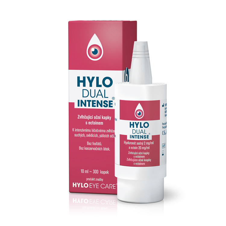 HYLO Dual Intense oční kapky 10 ml