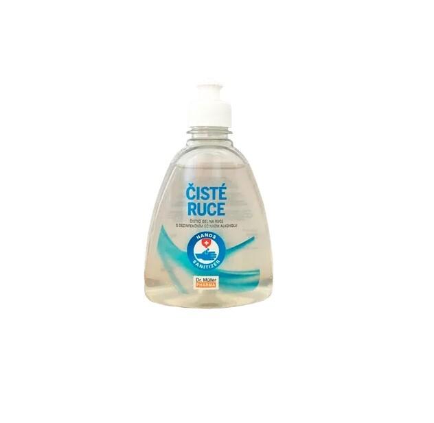 Čisté ruce čisticí dezinfekční gel 300ml Dr.Müller